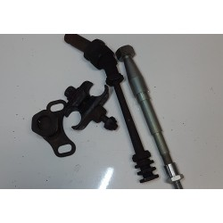 sidecar mountings and axle