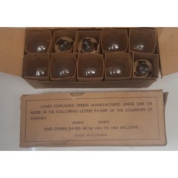 NOS, headlamp bulb, box of 10